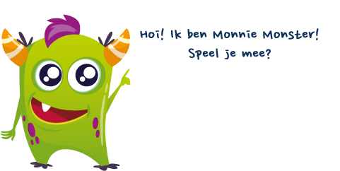 Ik ben Monnie Monster!
